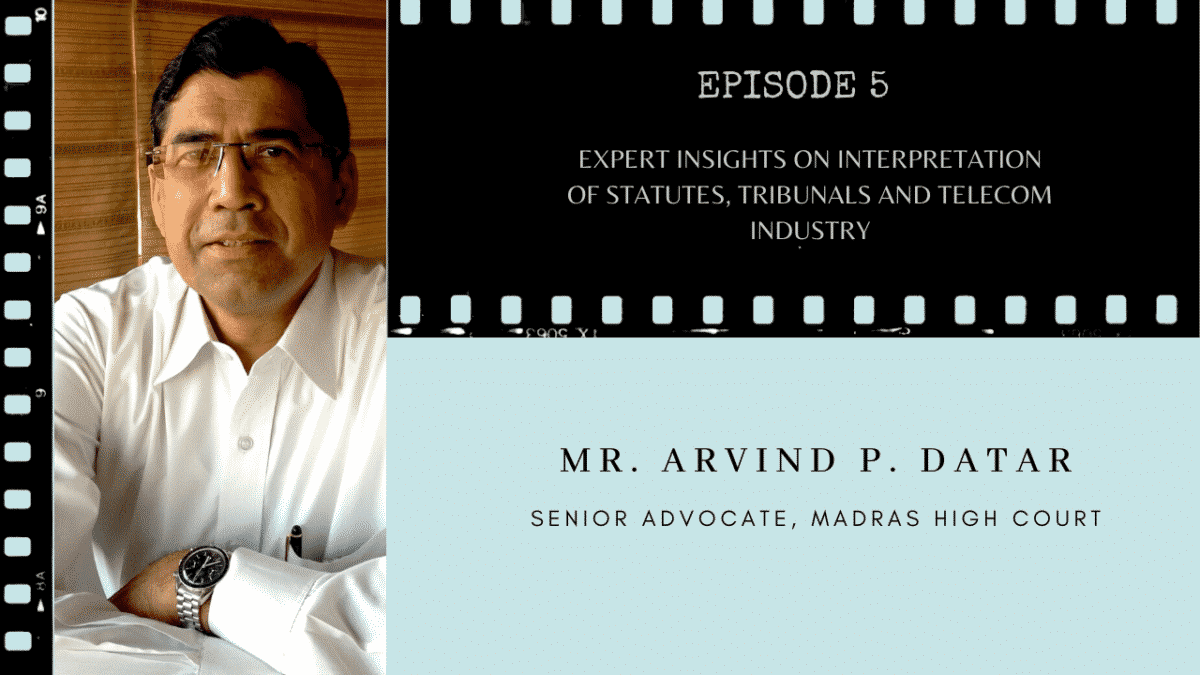 Mr. Arvind Datar on TCLF One-on-One
