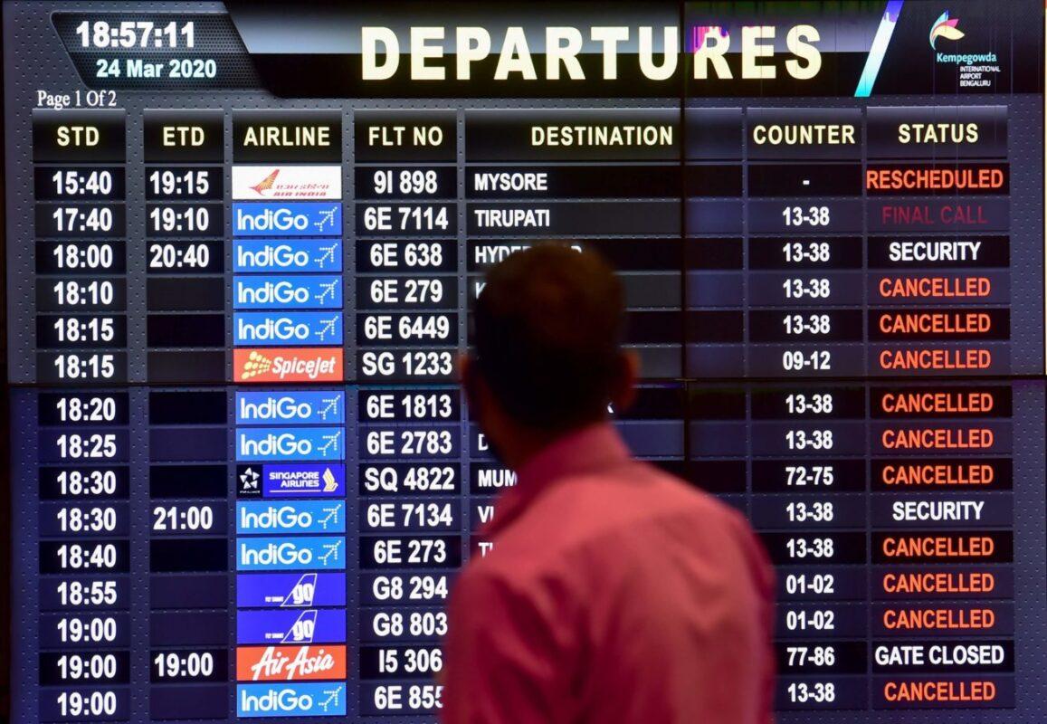 COVID FLIGHT CANCELLATION CREDIT SHELL